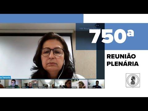 750ª Reunião Plenária - Crea-AL