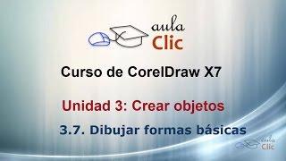 Curso de CorelDraw X7. 3.7. Dibujar formas básicas.