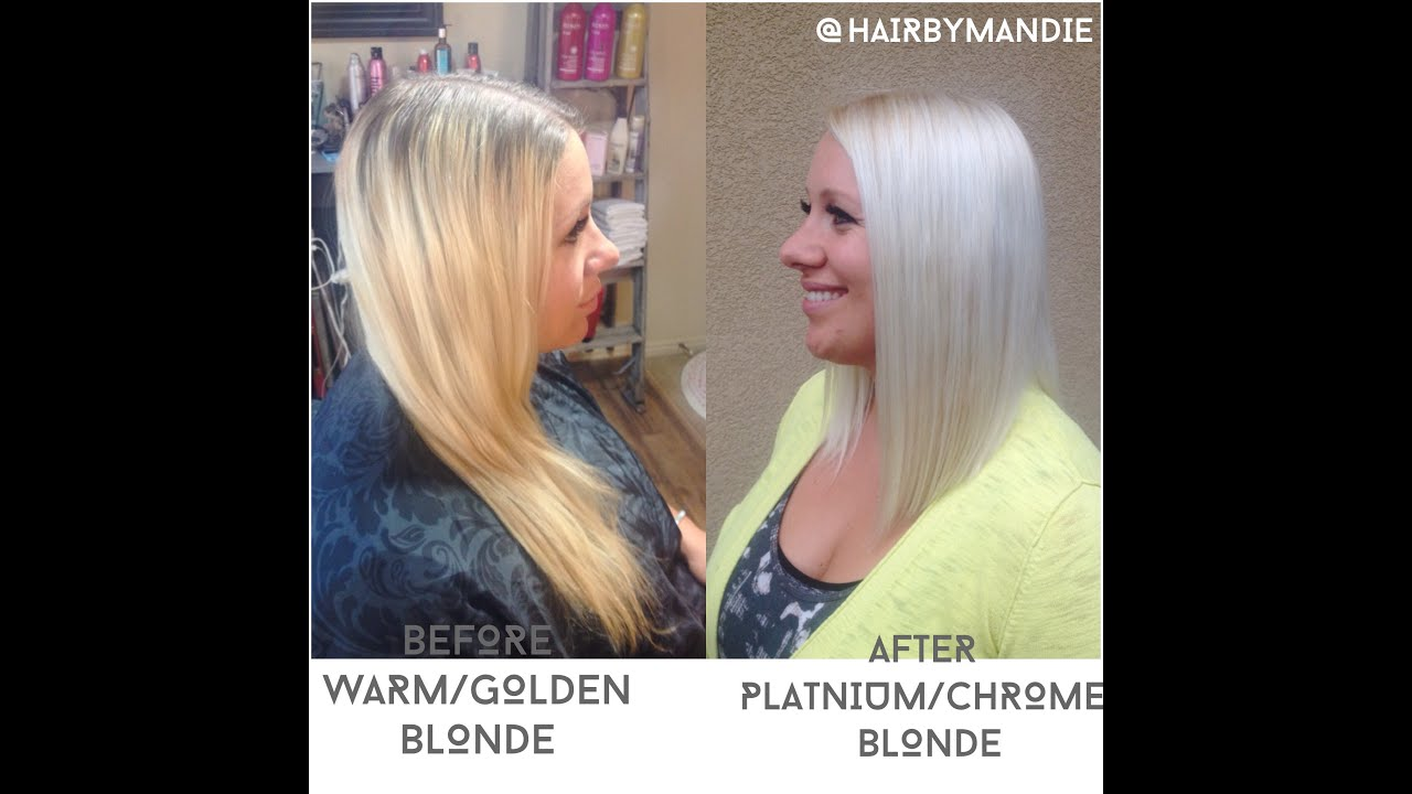 How To Get Blonde Hair To White Blonde Hair Tutorial It
