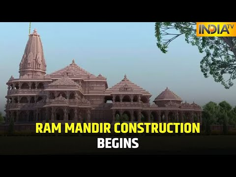 Ram Mandir Construction Begins, No Iron Will Be Used, Says Janmabhoomi Trust