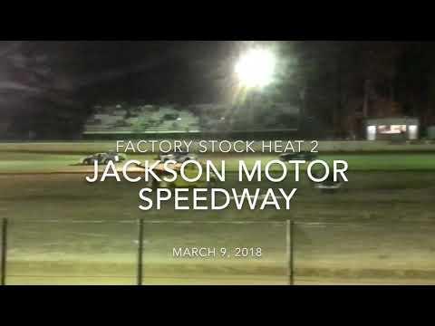 Jackson Motor Speedway 3/9/18 Factory Stock Heat 2