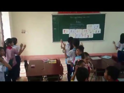 Trò chơi vận động trong môn mĩ thuật - Trường tiểu học thị trấn nghi xuân