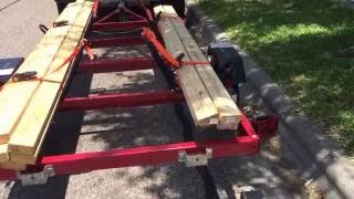 Harbor Freight Trailer Conversion for Pelican Catch 120s