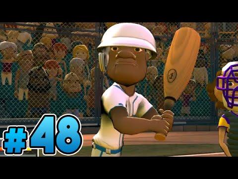 Super Mega Baseball Season Mode   Part 48 - Eric Carter's First Start! (PS4)