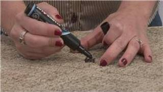 Housekeeping Tips : How to Remove Permanent Marker From Carpet