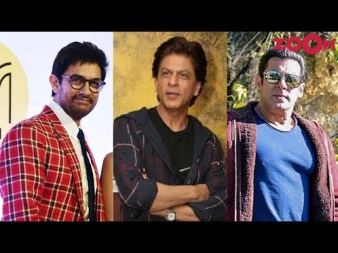 Shah Rukh Khan, Salman Khan & Aamir Khan to finally come together for a film? | Bollywood Gossip