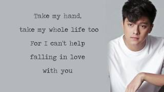 Daniel Padilla - Can't Help Falling In Love With You [Lyrics]