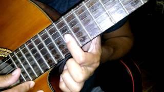Juanes - Fuego. Como tocar en guitarra. Tutorial. Acordes. Chords. Guitar.