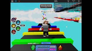 Roblox the best parkur game in the world