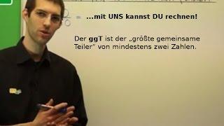 Bestimmung des ggT (größter gemeinsamer Teiler) - Bruchrechnung