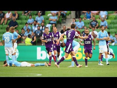Hyundai A-League 2018/19 Round 21: Melbourne City 2 - 2 Perth Glory