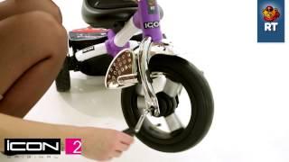 Трехколесный велосипед Lexus trike original ICON 2 RT original(Сенсация от производителя Lexus trike original RT- ICON RT original!У модели ICON 2 RT original- надувные колеса+маленькое сиденье.В..., 2013-12-11T08:49:14.000Z)