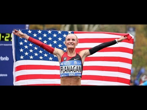 American Woman Shalane Flanagan Wins NYC marathon for FIRST time in 40 years