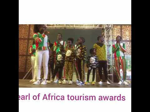 Triplets Ghetto Kids performing at Ekkula pearl of Africa tourism awards