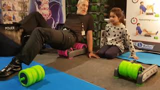 BackBaller at Therapy Expo, 😀Police Officer David Price Gets Interviewed On The Double😀