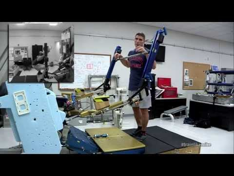 Astronaut Mike Demonstrates The ARED Space Fitness Machine | NASA Science HD