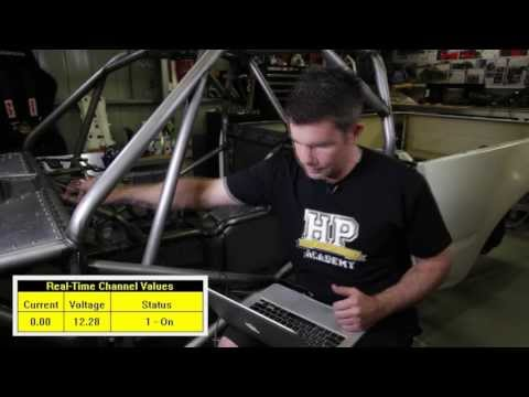 Racepak's Smartwire Power Distribution Module explained | High Performance Academy