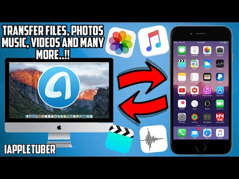 How to Transfer Files, Manage Music, Photos, Save iOS Backups and more with One Click!! - Any Trans