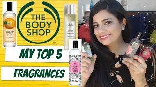 THE BODY SHOP FRAGRANCES FOR SUMMER | Sana K
