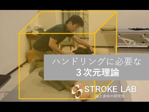 ハンドリングに必要な3次元理論 脳卒中片麻痺の寝返りへの応用 STROKE LABチャンネル