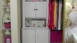 Closet Tour: Organizing Ideas For Small Closets