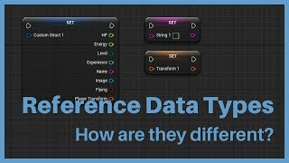 Reference Data Types inside of the Unreal Editor.