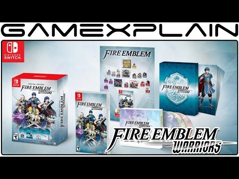 Fire Emblem Warriors North American Release Date & Special Edition Revealed