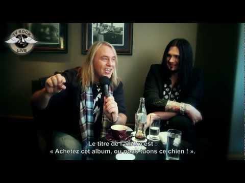 TV Rock Live - Helloween - Interview - Paris 2012 [HD] Traduction en Français