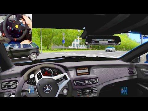 City Car Driving - Simulatore di Guida (Mercedes CLS, Alfa 155, BMW M5)