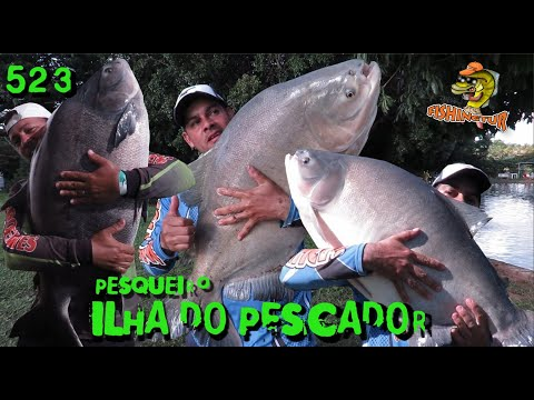 Ilha do Pescador - Pirararas e grandes Tambas na ponta da linha - Fishingtur na TV 523