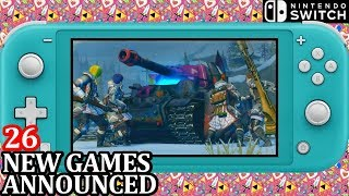 26 New Games Switch Announced Week 2 July 2019   Nintendo Direct News