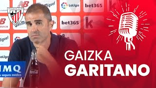 🎙️ Gaizka Garitano I post Athletic Club - FC Barcelona Video