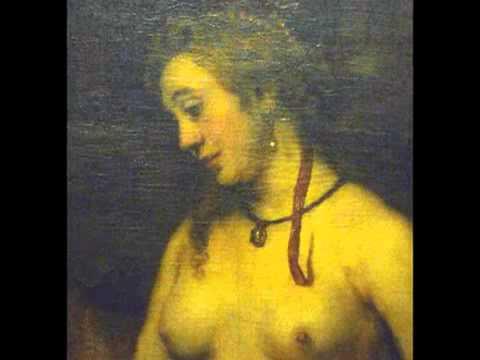 Bathsheba at her bath rembrandt