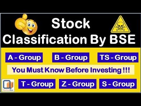Stock Groups By BSE To Help Investors| A Group Stocks| B Group Stocks | T Group| Z Group| QuriousBox