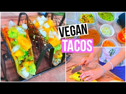 Easy + Healthy Vegan Tacos!