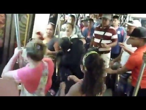 Así fue el robo masivo en el Metro de Caracas en Semana Santa