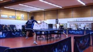 Nationale 1: Thorigné 8 / Amiens sport tennis de table 6, le 10 février 2017