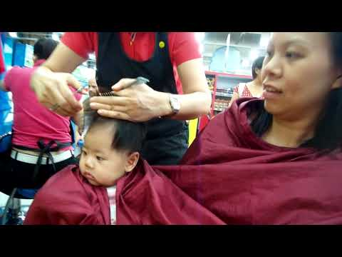 Naydine's Haircut At Toys R'Us
