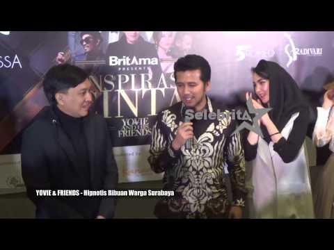 Konser Yovie & Friends - Hipnotis Ribuan Warga Surabaya | Selebrita Siang 08 Agt 2019
