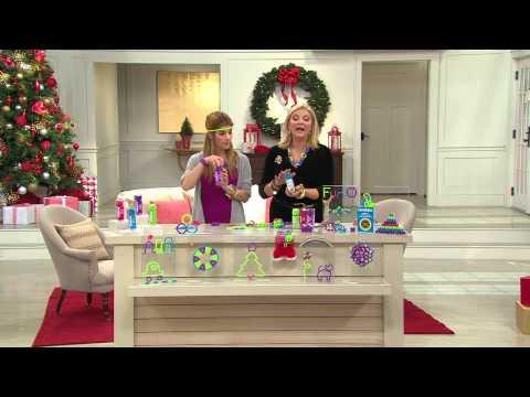 Twiddle Set of 4 Fun Fidget Toys & Shape Makers with Pat James-Dementri