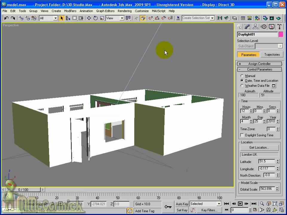 3ds max daylight systems youtube rh youtube com 3ds max manual pdf 3d max manual español pdf