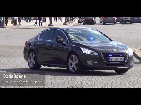 Voitures de police banalisées SDLP/GSPR // Unmarked Police Cars Responding