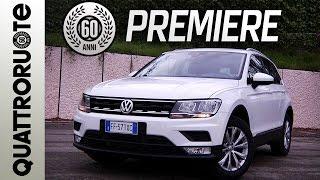 Nuova Volkswagen Tiguan: il test drive di Quattroruote - Exclusive Premiere