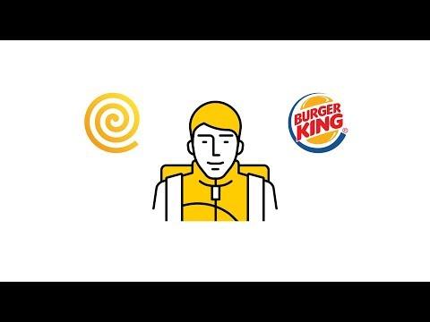 Яндекс.Еда — Инструкция для курьеров: Burger King V1.3.0f