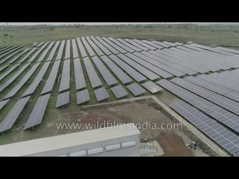 India goes the renewables way: Massive Solar plant in central India