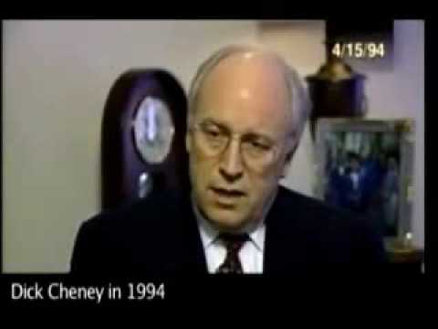 Iraq dick war speeches cheney