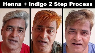 Indigo powder for hair || 2 step process|| Natural remedy for hairs without side effects
