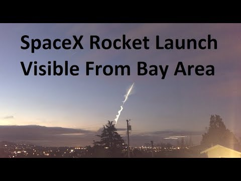 Watching A Rocket Launch From 230 Miles Away