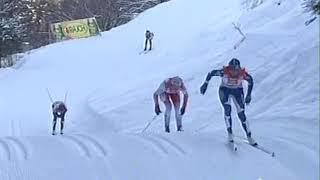 2009 01 03 Тур де Ски Валь ди Фьемме 10 км женщины классический стиль