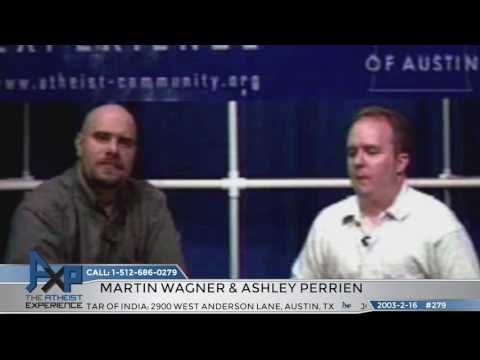 """Lost"" Atheist Experience #279 with Martin Wagner and Ashley Perrien"